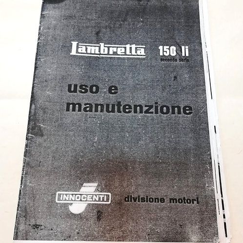 Lambretta 150 SECONDA SERIE (copia) - ITALIANO