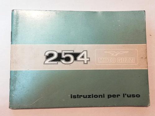 Moto Guzzi 254 - ITALIANO