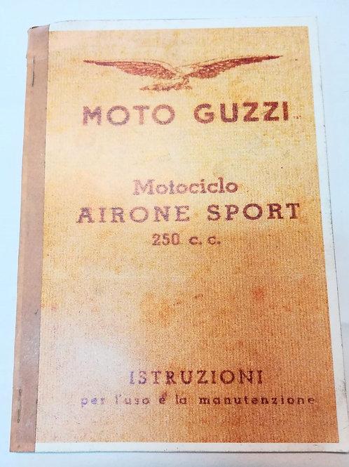 Moto Guzzi AIRONE SPORT 250 - ITALIANO