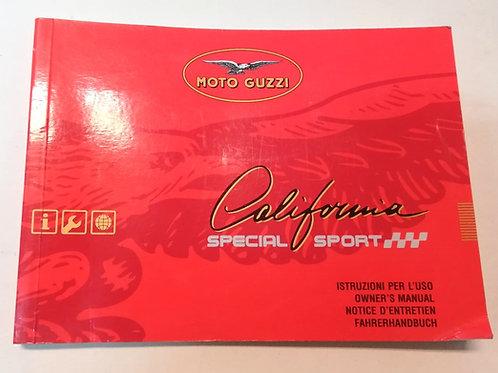 Moto Guzzi CALIFORNIA SPECIAL SPORT - ITALIANO