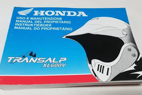Honda XL600 V TRANSALP - ITALIANO