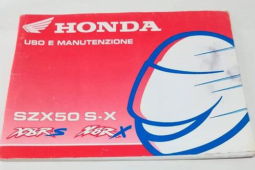 Honda X8RS / X8RX - ITALIANO