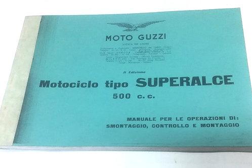 Moto Guzzi SUPERALCE 500 - ITALIANO