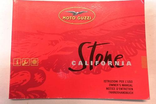 Moto Guzzi CALIFORNIA STONE - ITALIANO