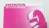 Libretti uso e manutenzione Honda