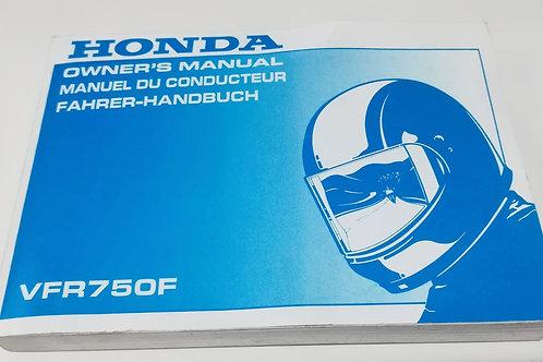 Honda VFR750 F - INGLESE