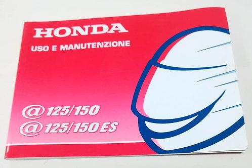 Honda @125/150  @125/150 ES - ITALIANO