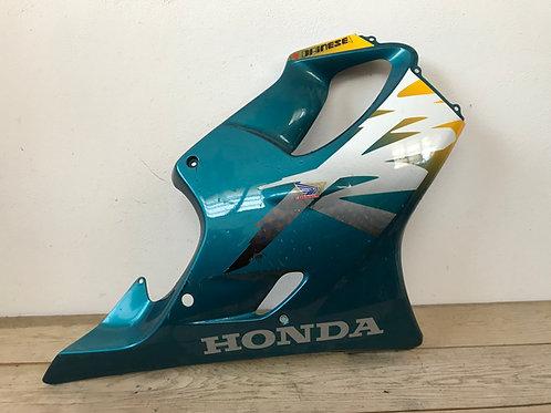 Honda Carena lat dx verde  CBR 600 F  S.L