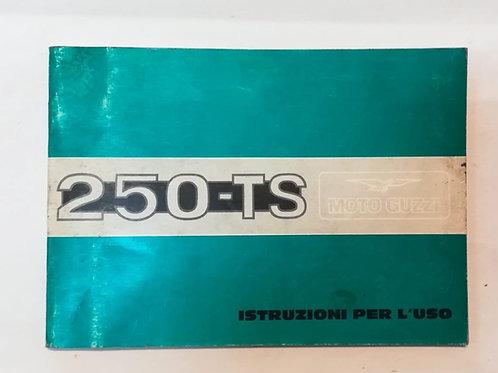 Moto Guzzi 250 TS - ITALIANO