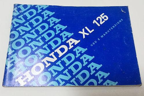 Honda XL125 - ITALIANO