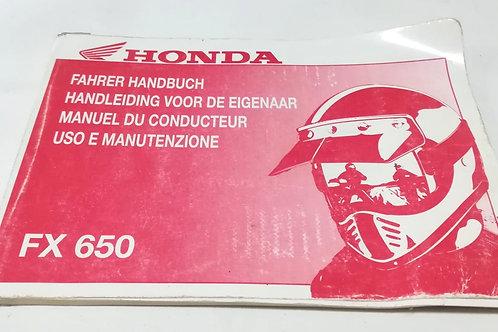 Honda FX650  - ITALIANO