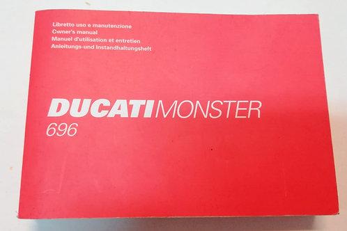 Ducati MONSTER 696 - ITALIANO