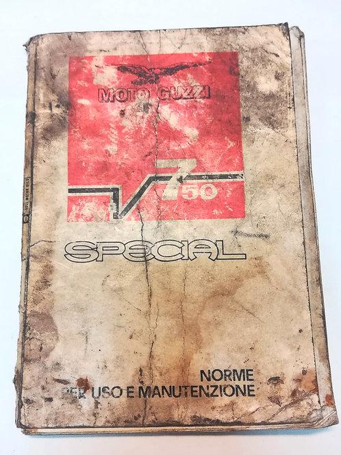 Moto Guzzi V 750 SPECIAL - ITALIANO