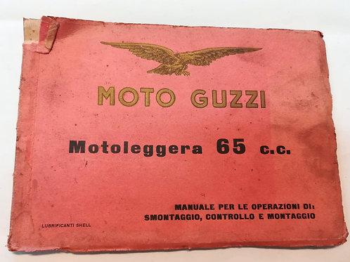 Moto Guzzi MOTOLEGGERA 65 - ITALIANO