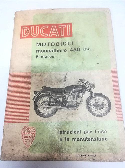 Ducati MONOALBERO 450 CC 5 MARCE - ITALIANO