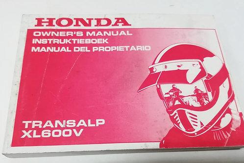 Honda XL600 V TRANSALP - INGLESE