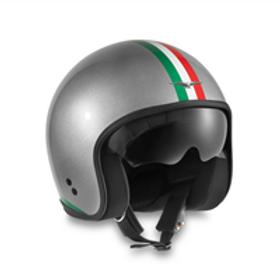 Moto Guzzi Casco ITALIA PRIDE CROMO