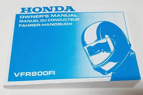 Honda VFR 800 FI - INGLESE
