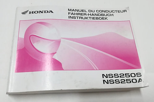 Honda NSS 250S/A - FRANCESE