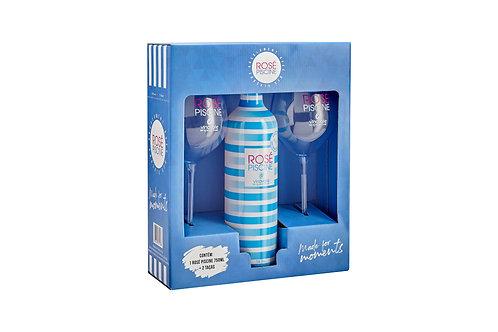 Kit Rosé Piscine Cristal Blue