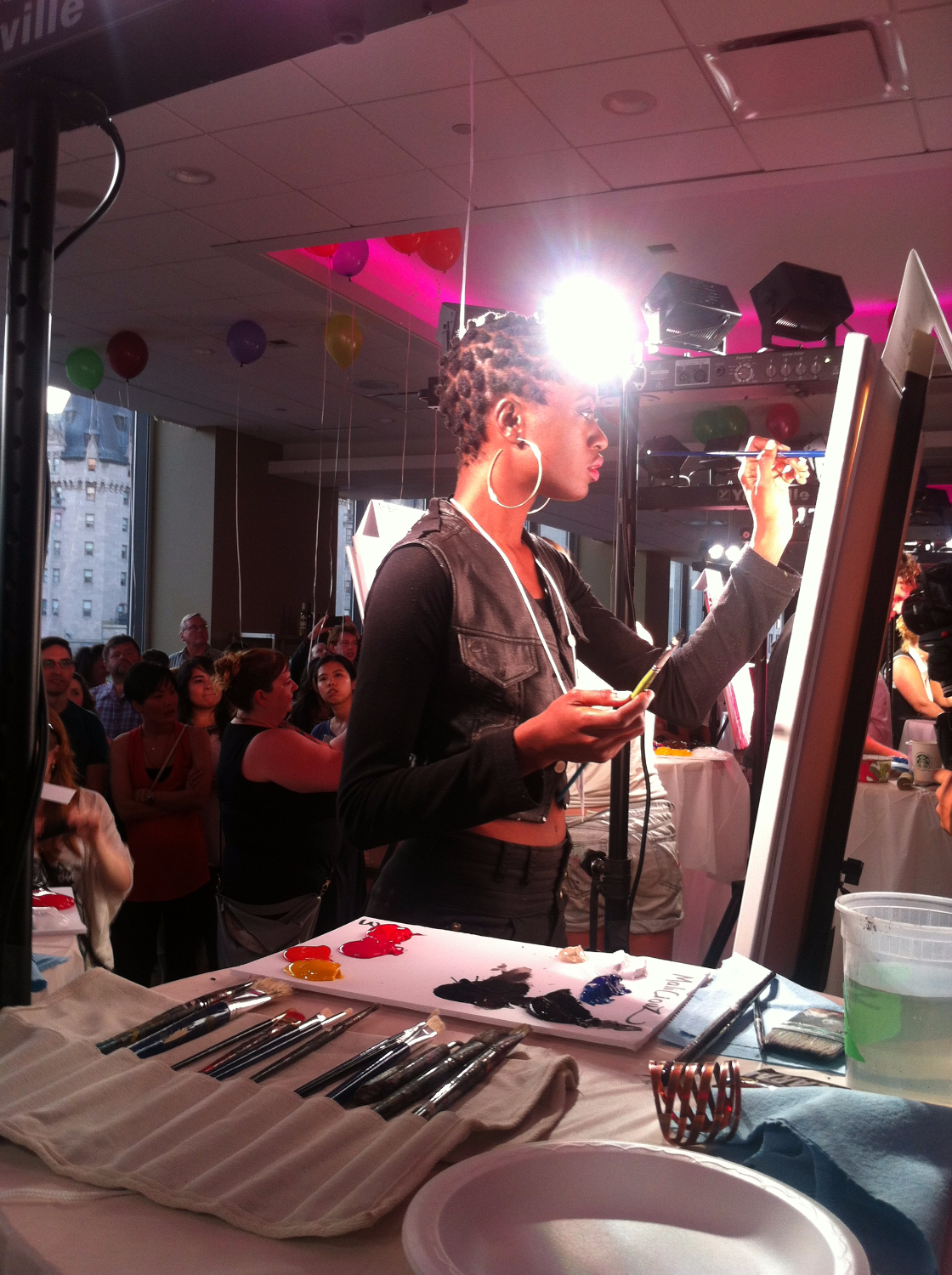 Speed Painting x Art Battle Canada