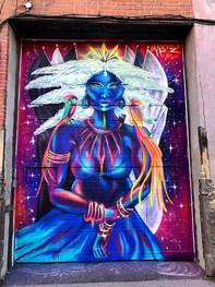 Murale située sur Van Horne & Waverly
