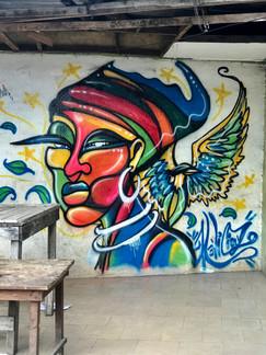 Murale à Marcory , Abidjan