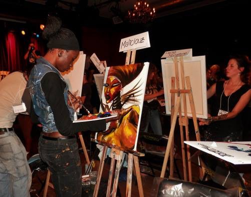 Live Painting Montreal - Art Battle