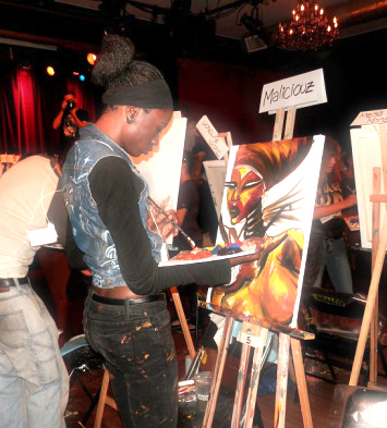 Live Art battle 68 Montreal Winner