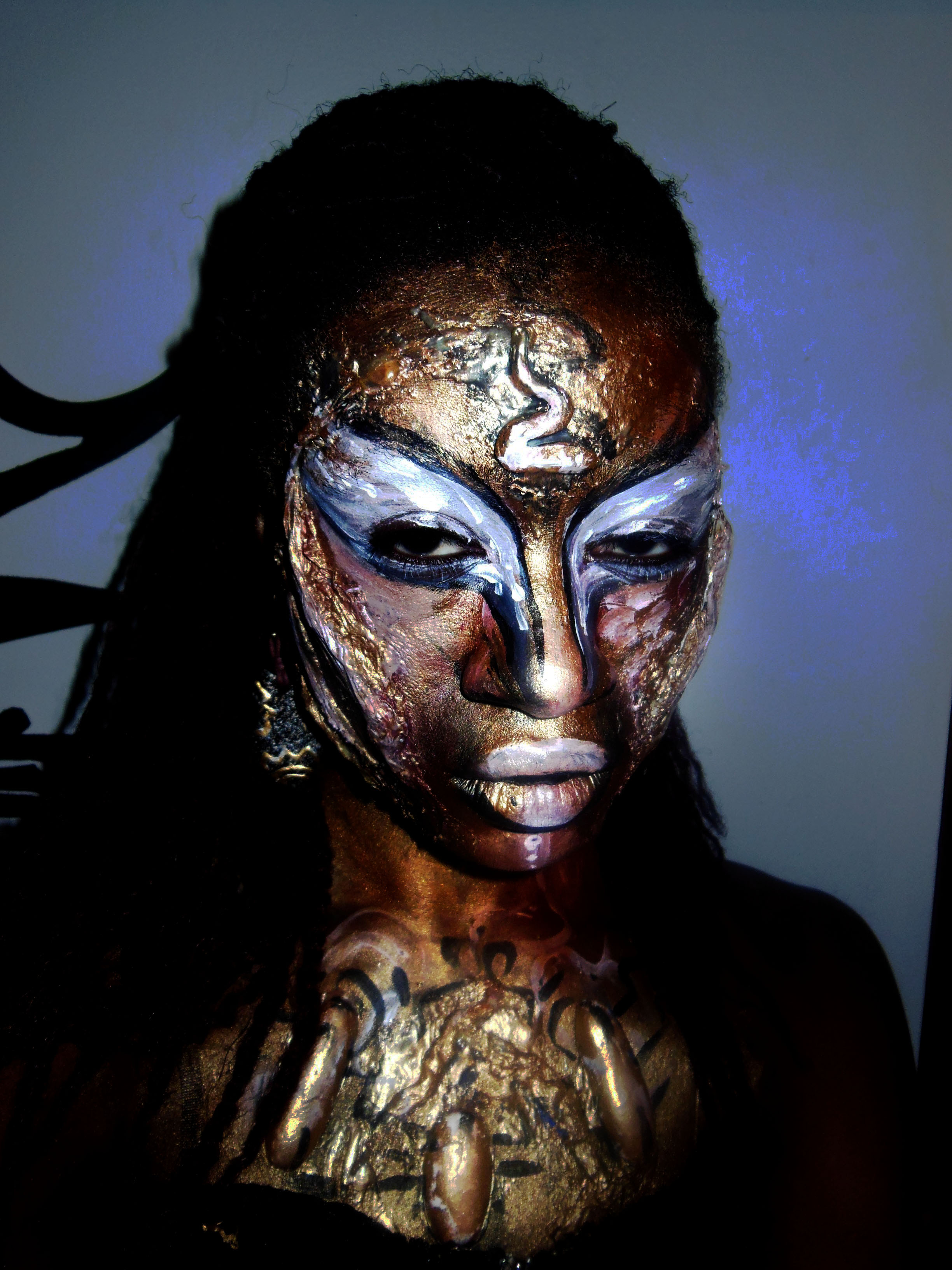 halloween makeup Body Painting
