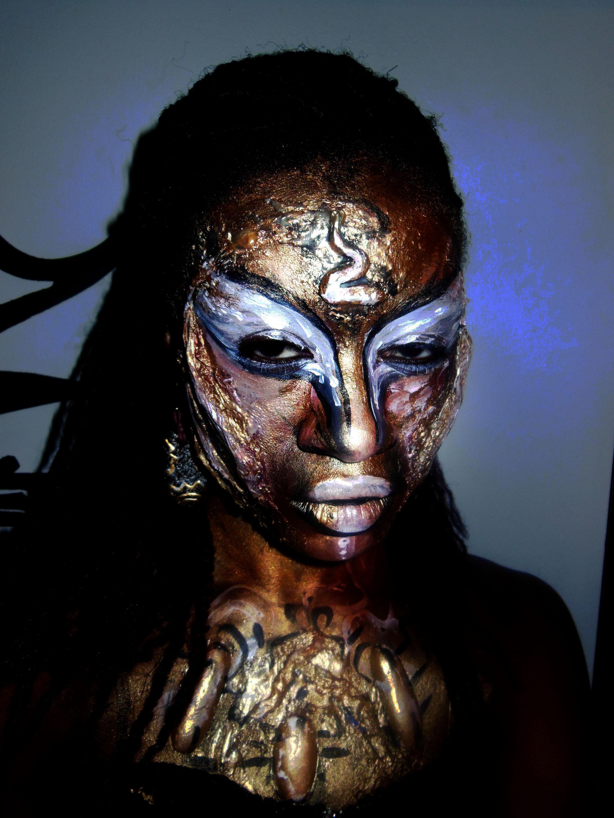 halloween makeup Body Painting