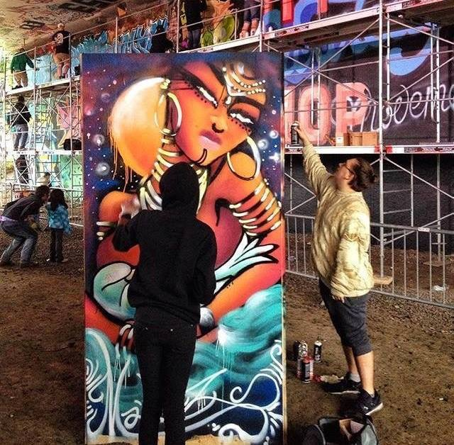 Live Painting Ottawa House of Paint