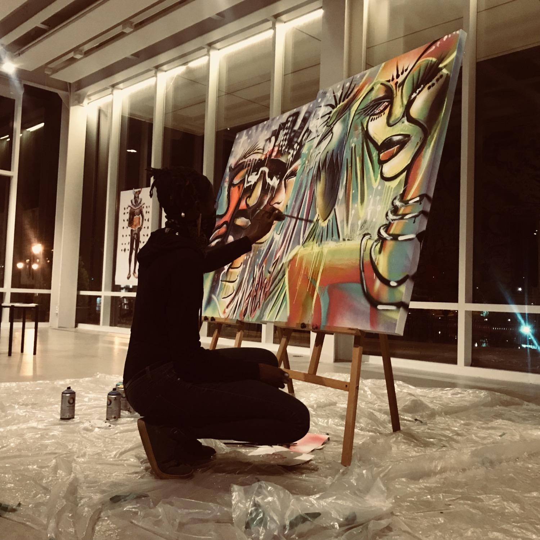 Live Painting Musée d'Art Joliette