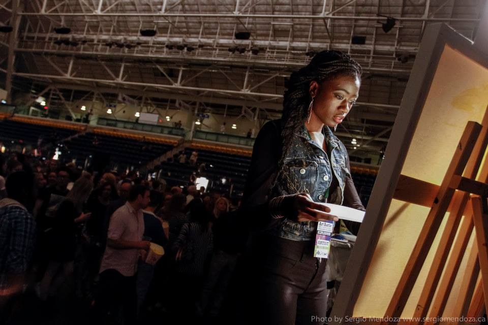 Live Painting Art Battle Canada