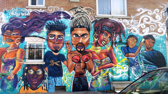 Graffiti, Murale, Street Art, Montréal, Maliciouz