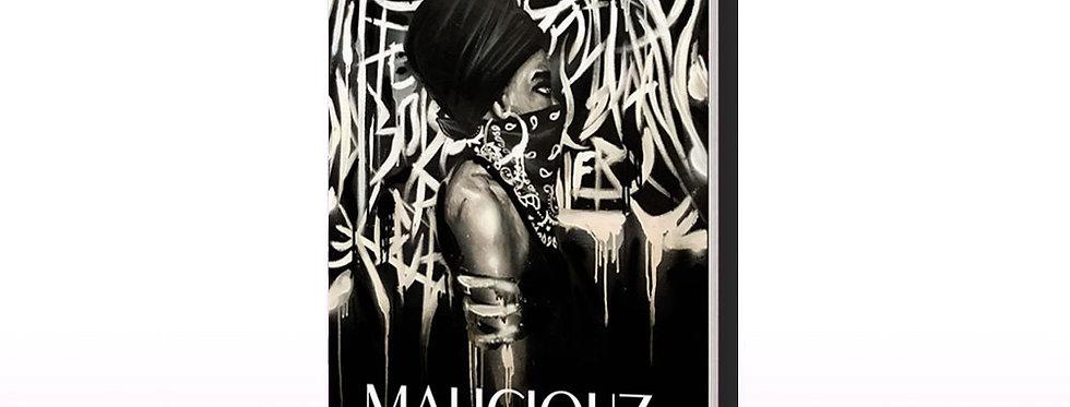 livre maliciouz art afro urbain contemporain