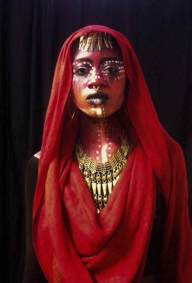 Tribal Body Painting