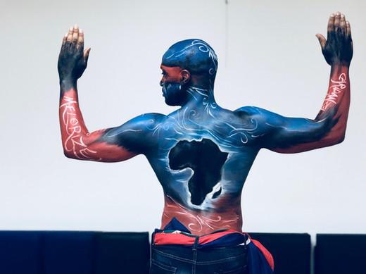 Body Painting Montreal Carifiesta 2019 Haiti
