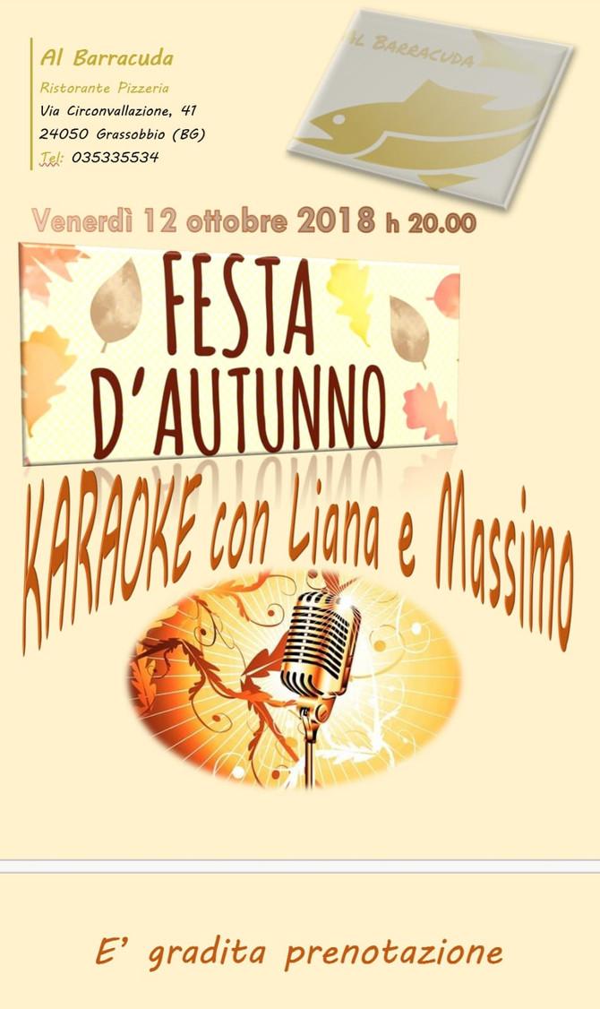 Festa D'Autunno con Karaoke