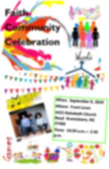 Faith Community Celebration Flyer iii.jp
