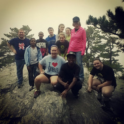 Our Youth Group at Hanging Rock NC