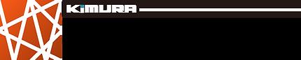 オレンジと黒と白で構成された木村鋳造所のデザイン部隊のキムラデザインワークスのロゴマーク