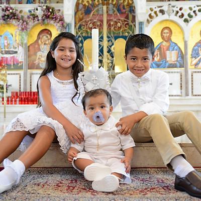 Baptism of Damian, Sophia & Alexandros