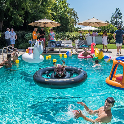 An Afternoon Poolside Benefit for The Trevor Project