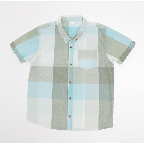 9-10Y | GOLF | חולצת משבצות לגונה