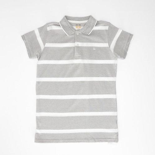 12Y | GOLF | חולצת פולו פסים
