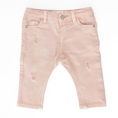 3-6M | ZARA | מכנסי ג'ינס ורודים