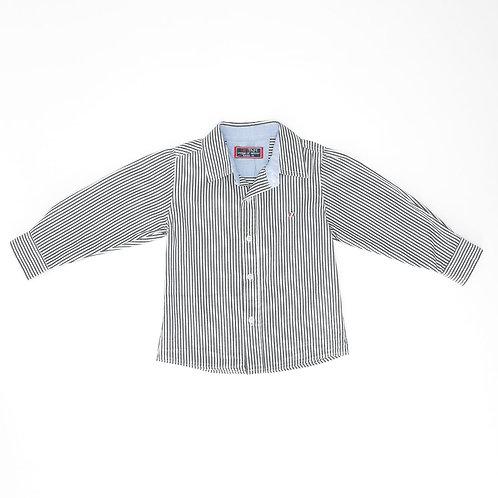 3-4Y | TamTam | חולצת פסים מכופתרת