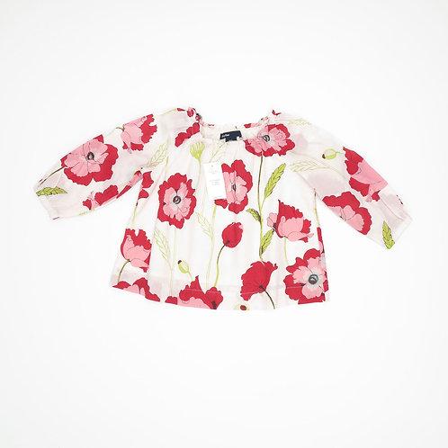 6-12m | GAP | חולצה פרחונית