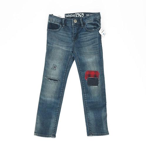 18-24m | GAP  | מכנסי ג'ינס סקוטיות